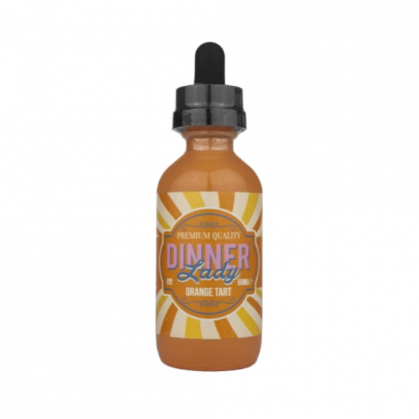 Dinner Lady Orange Tart E Liquid 50ml Shortfill