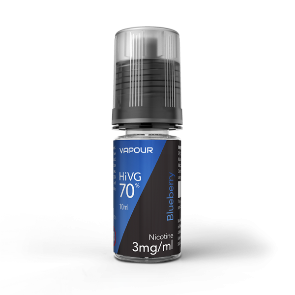 Vapour Blueberry High VG E Liquid 10ml 6mg