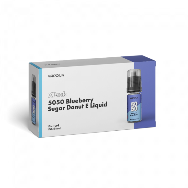 Vapour 5050 Blueberry Sugar Donut XPack