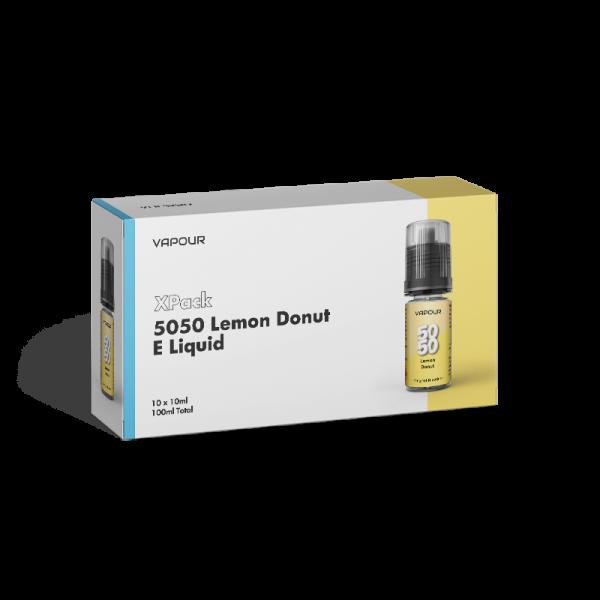 Vapour 5050 Lemon Donut XPack