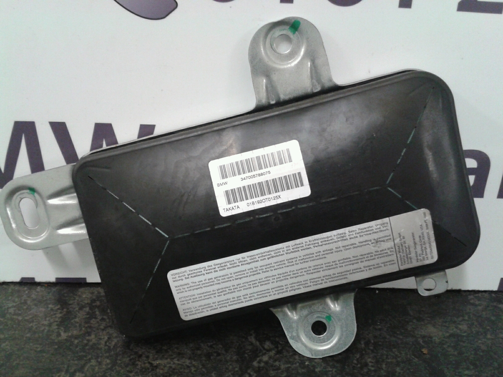 BMW E46 3 SERIES O/S/F Door Airbag 72127055130