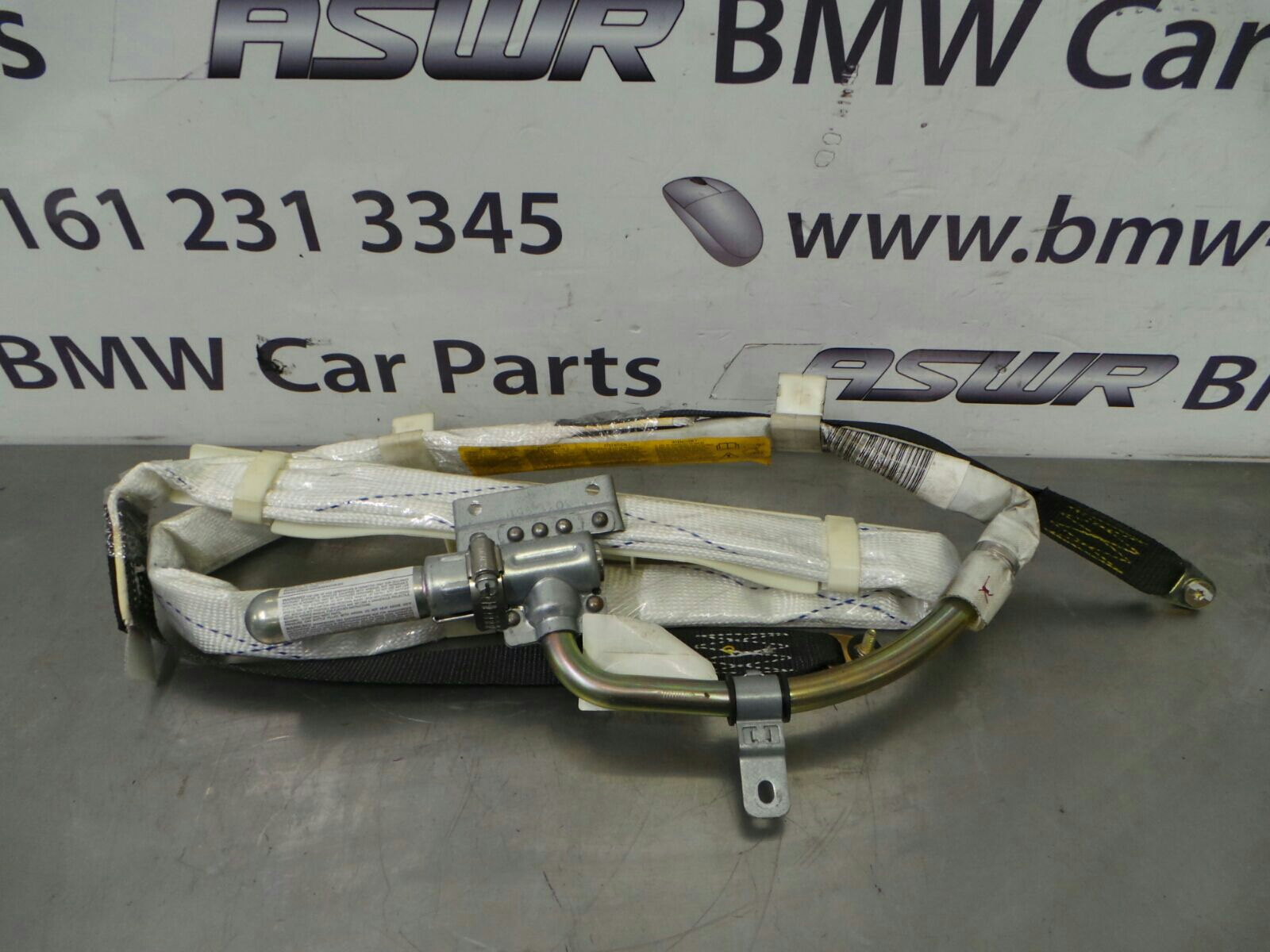 bmw e53 x5 left n s head curtain airbag 72128267157 breaking for used and spare parts from aswr. Black Bedroom Furniture Sets. Home Design Ideas