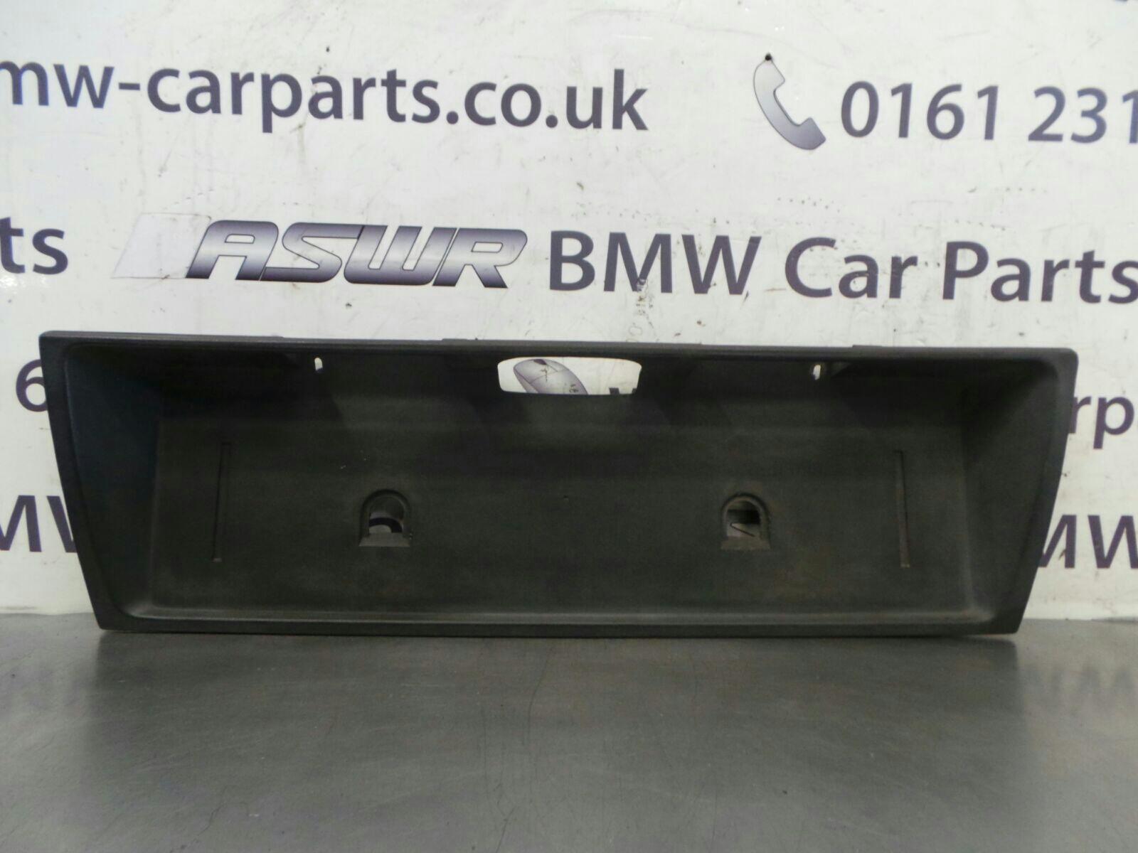 BMW E30 3 SERIES Number Plate Holder/Plinth 51131961241 & BMW E30 3 SERIES Number Plate Holder/Plinth 51131961241 breaking for ...