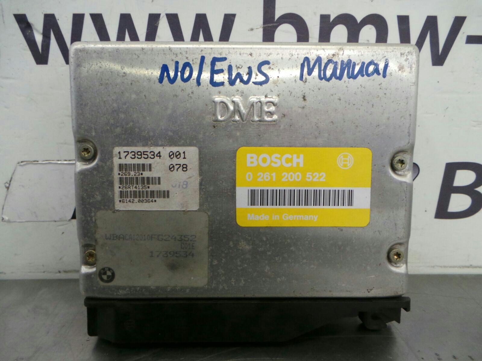 BMW E36 3 SERIES  Engine ECU Unit 0261200522