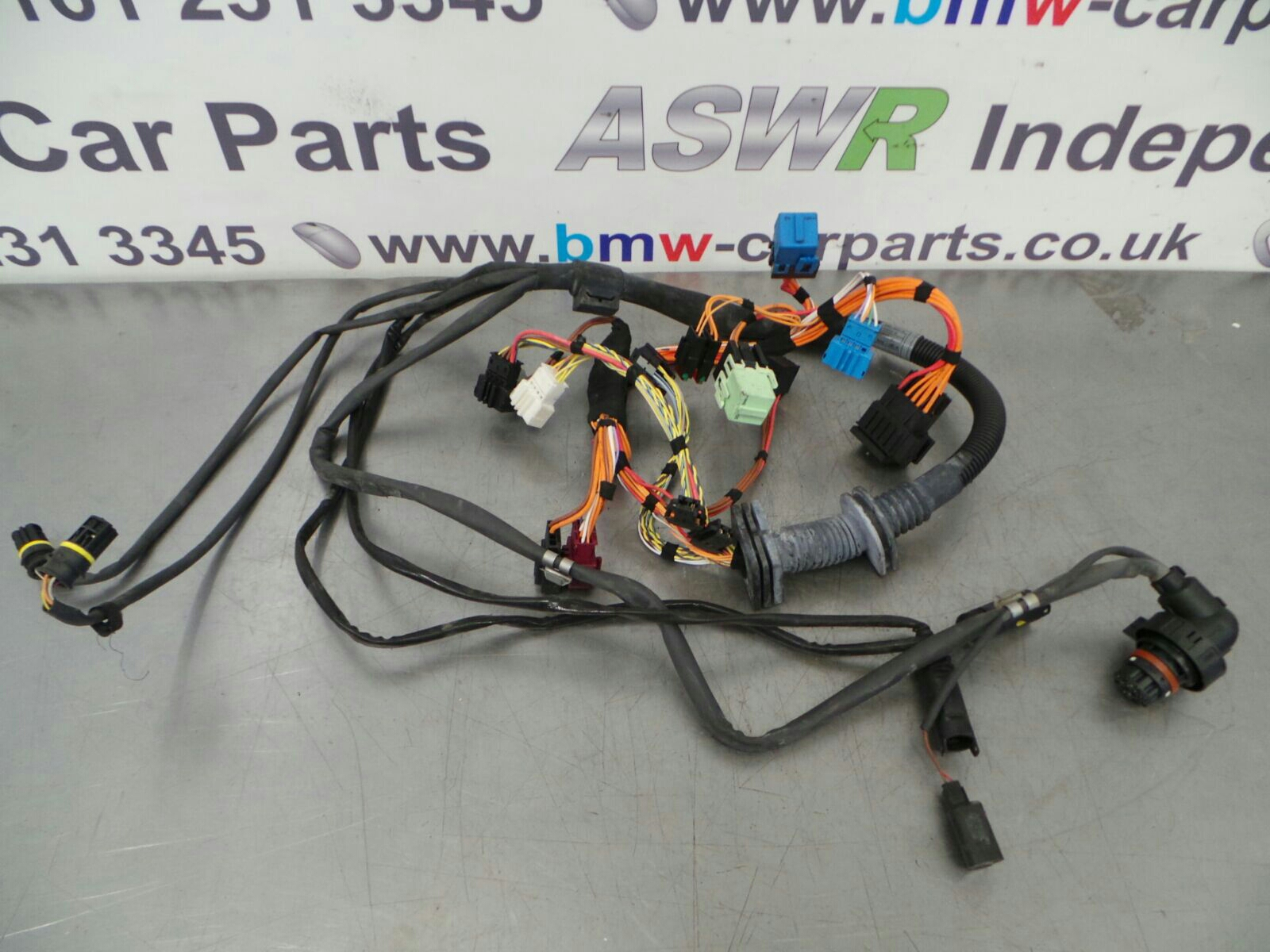 BMW E60 5 Series SMG/Auto Gearbox Wiring Loom 12537529723 breaking ...