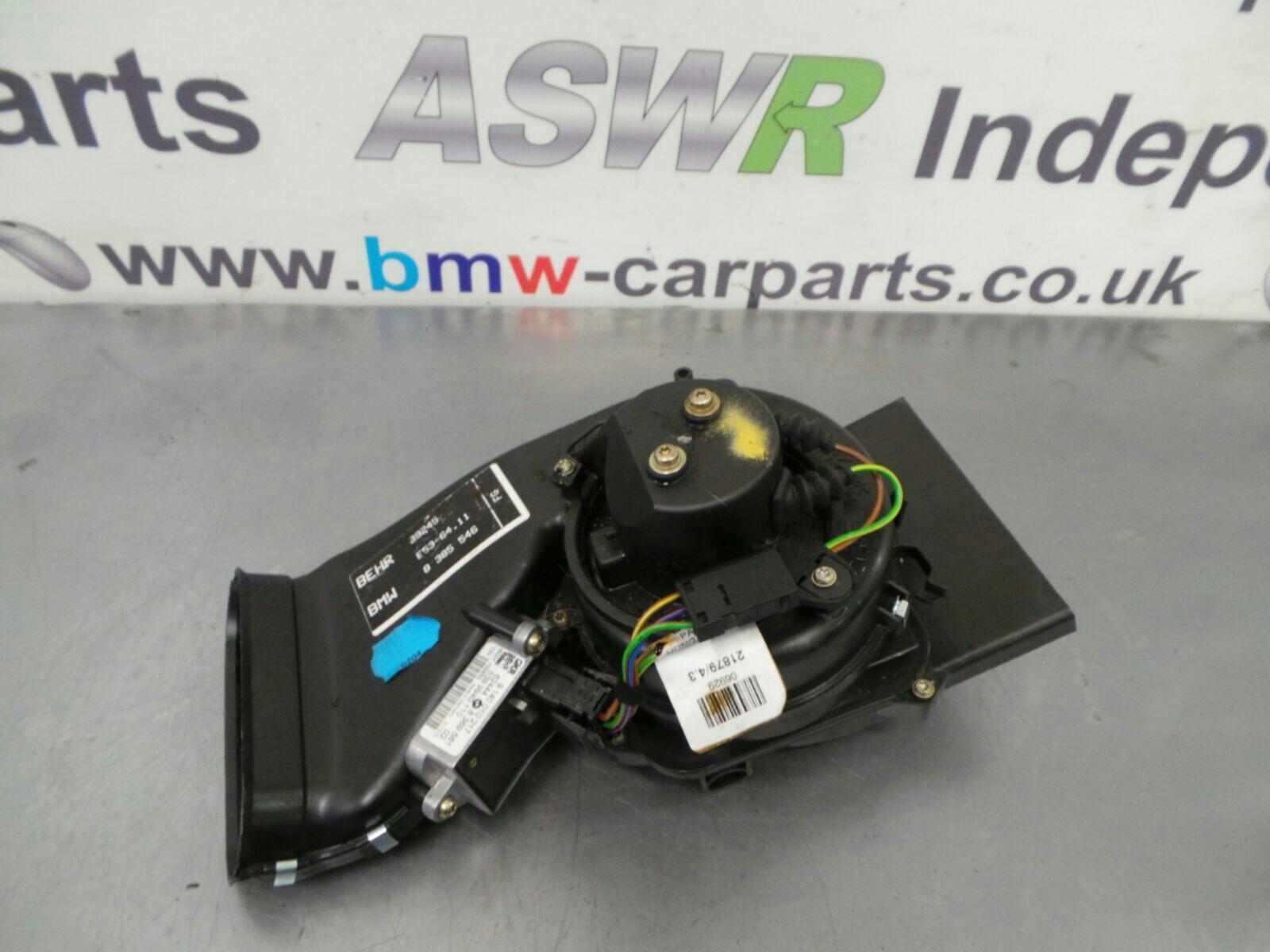 BMW E53 X5 Heater Blower Motor 64118385546