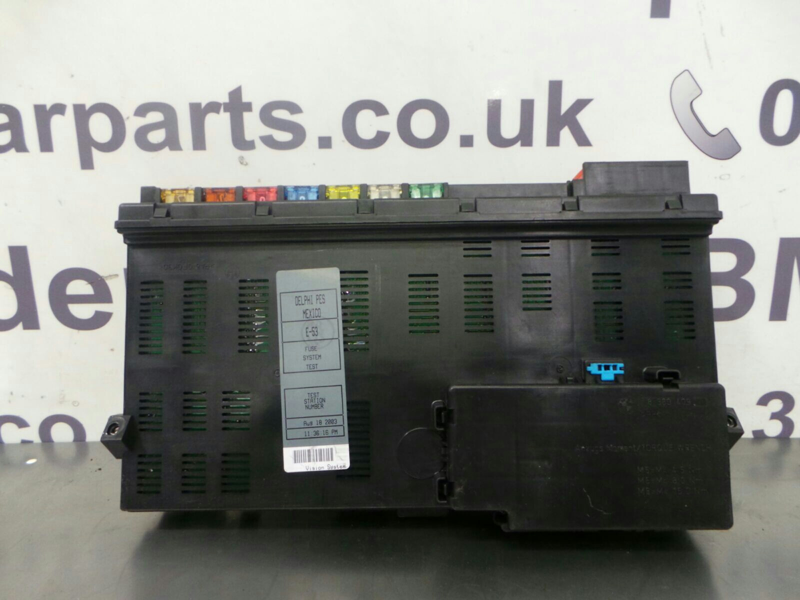 bmw x5 e53 fuse box 61138384525 breaking for used and spare parts from aswr in openshaw manchester. Black Bedroom Furniture Sets. Home Design Ideas