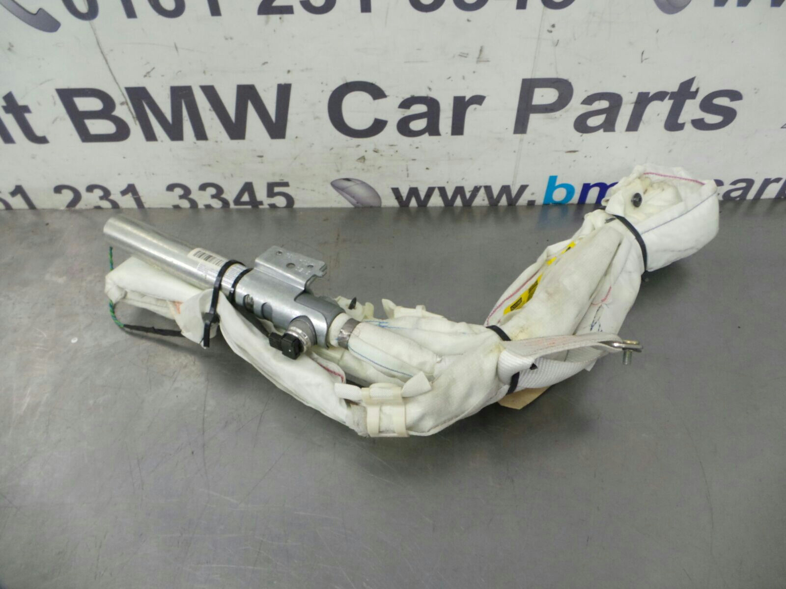 BMW E60 5 SERIES  N/S Curtain Airbag 72129147337