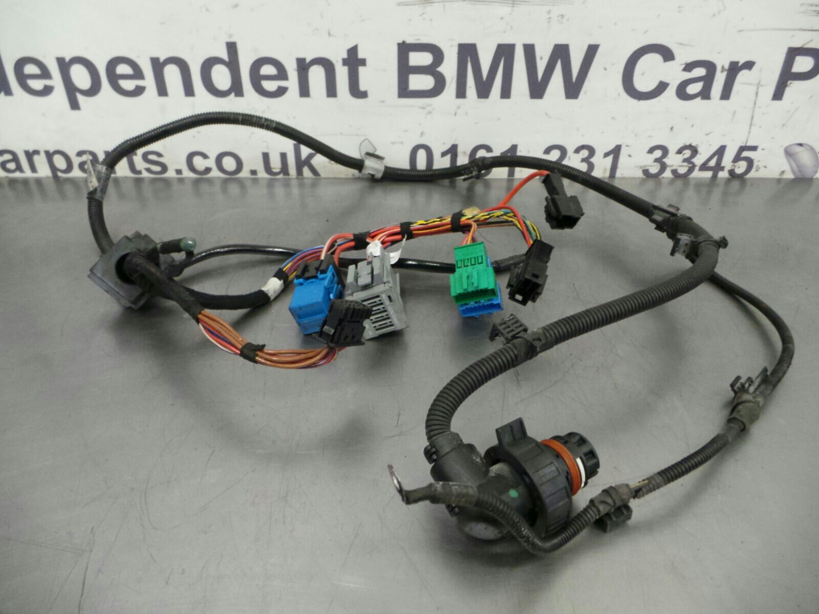 Bmw E90 Wiring Loom - More Wiring Diagram