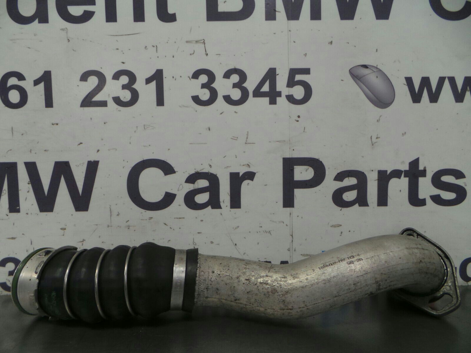 BMW E90 3 SERIES Turbo to Intercooler Pipe 11617795304