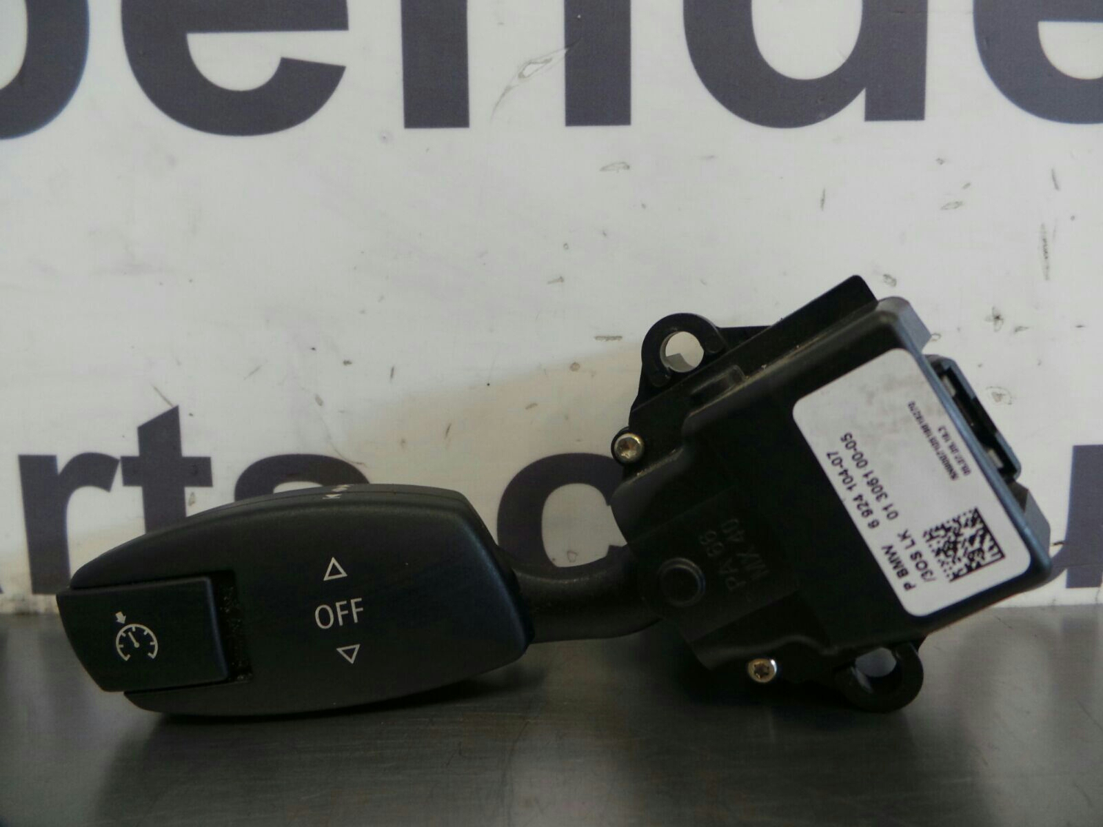 BMW E60 5 SERIES Cruise Control Switch 61316924104