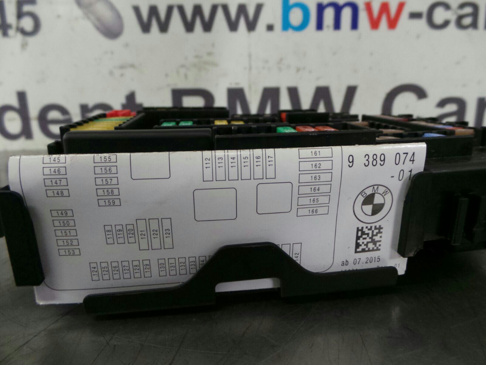 Bmw F20 Fuse Box Wiring Diagram Viscount Caravan 1 Series 9259466 9389070 Breaking For Used And Fusible Link