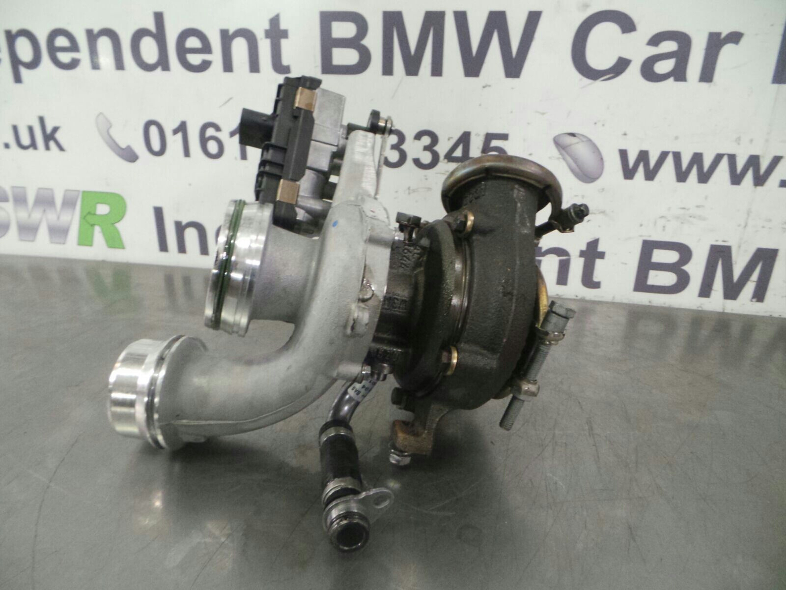 bmw f20 lci 1 series turbo charger 11658514267 breaking for used and spare parts from aswr in. Black Bedroom Furniture Sets. Home Design Ideas