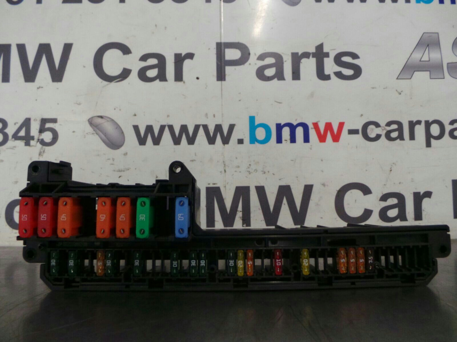 BMW 5 SERIES E60 LCI Fuse Box 6932452/6957330 breaking for used and ...