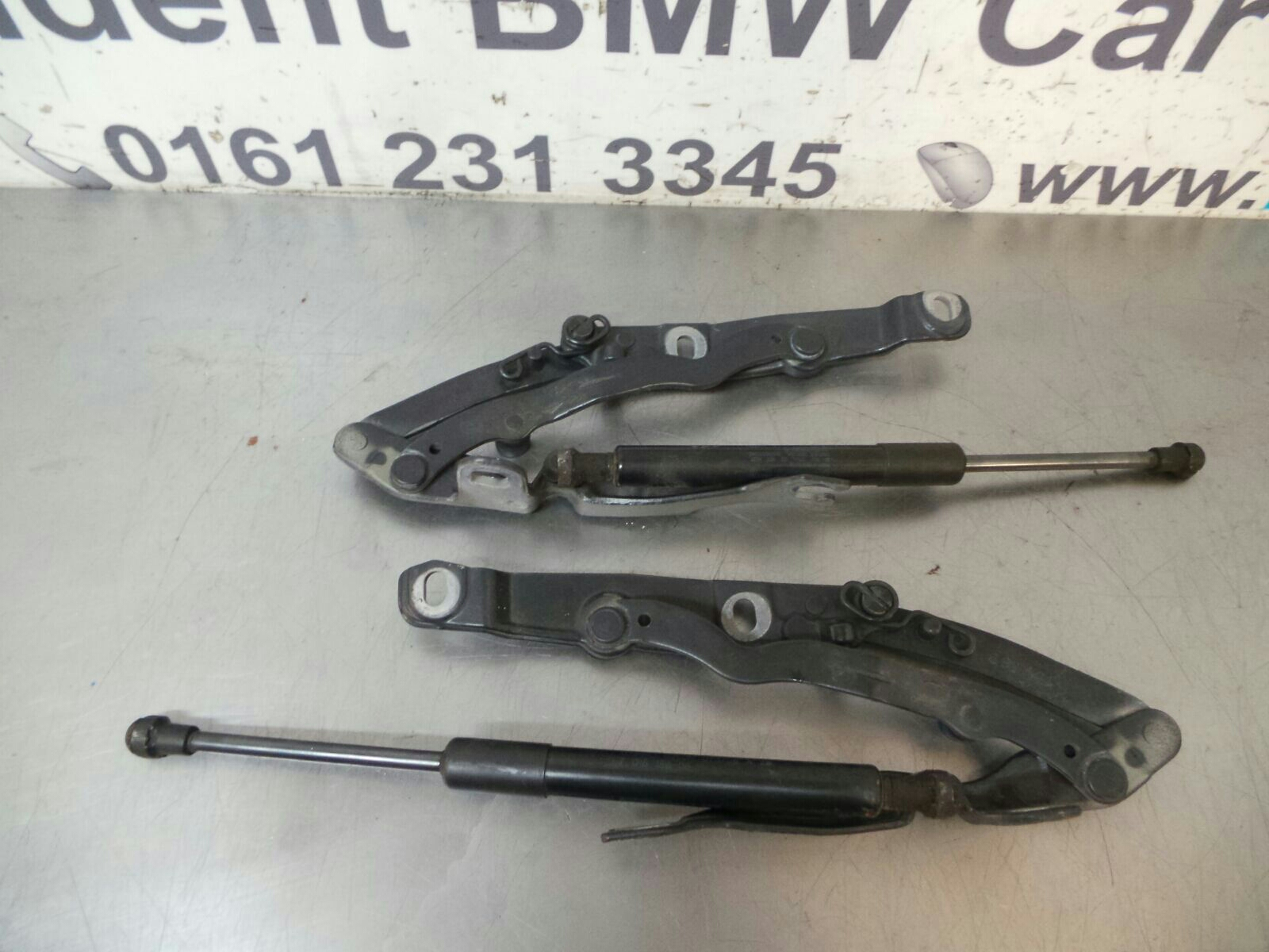 Bmw E85 Z4 Boot Tailgate Hinges Struts 7202567 7202568