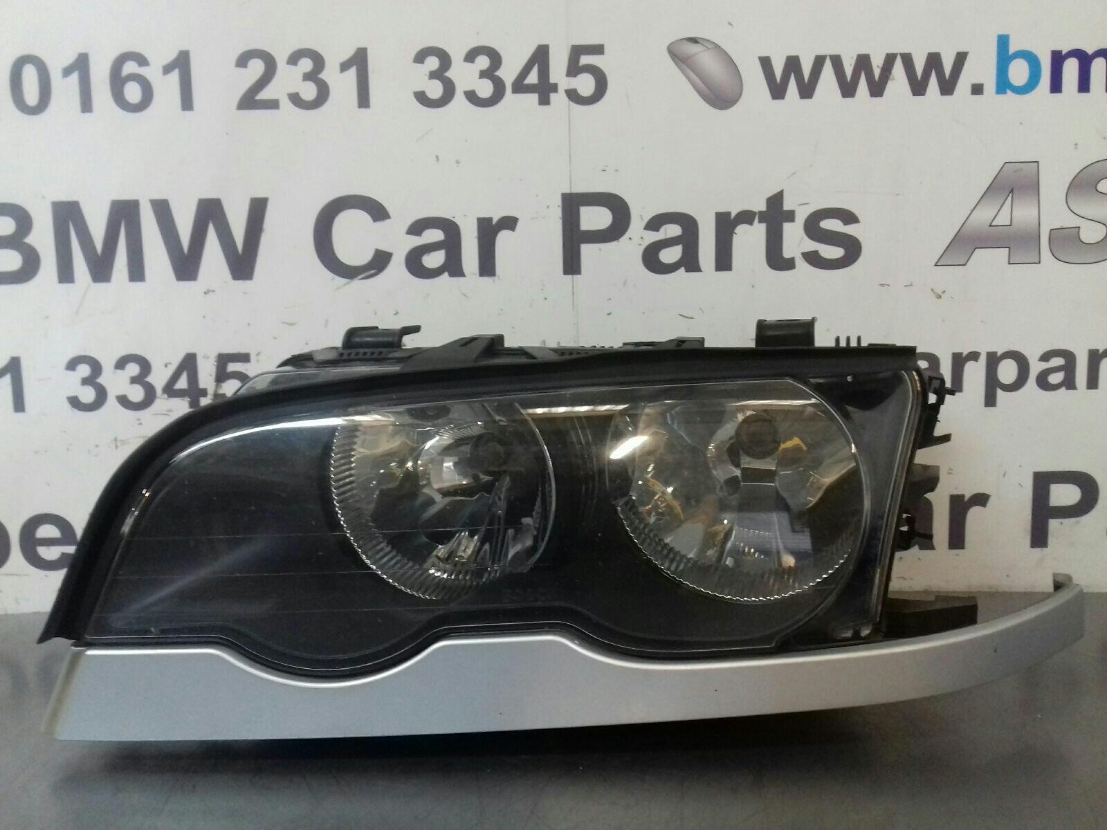 BMW E46 3 SERIES N/S Head Light 63126904277