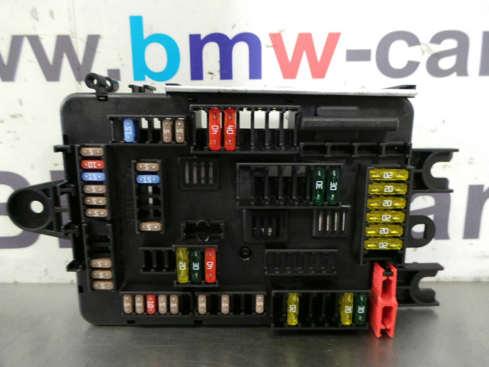 Bmw f series fuse box  breaking