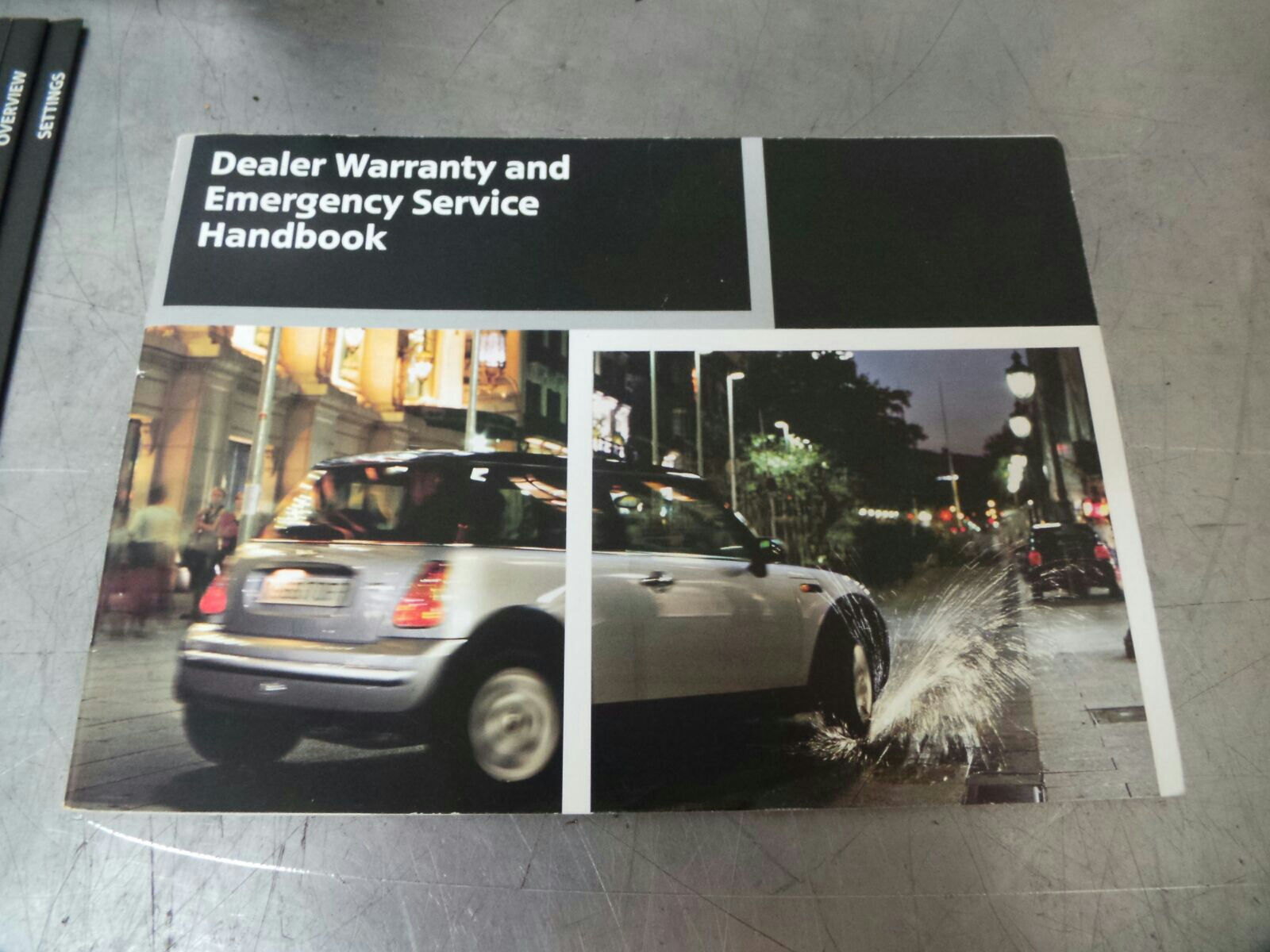Bmw Mini R50 R52 R53 Owners Handbook Wallet Breaking For Used And
