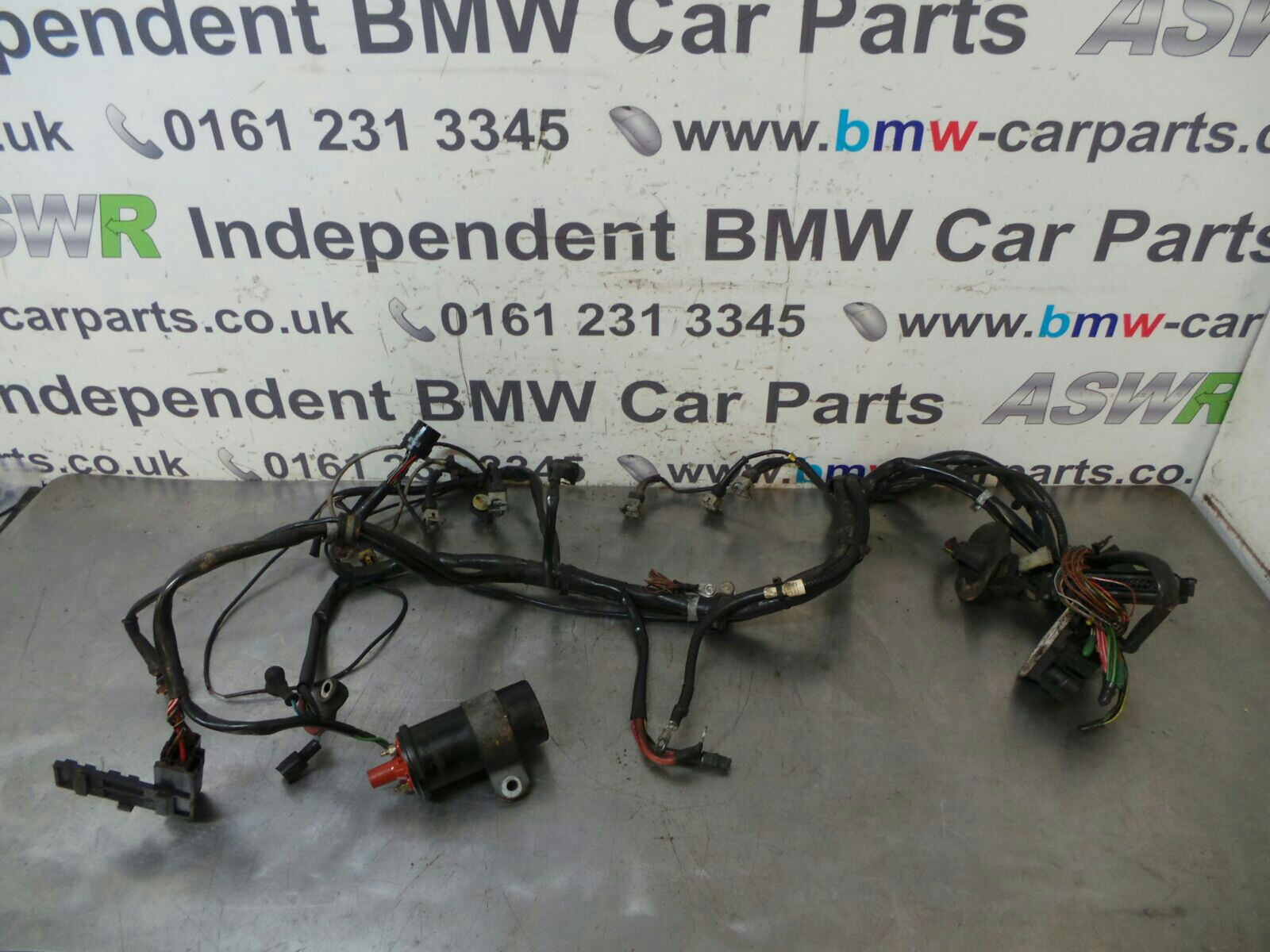 bmw e30 3 series automatic engine wiring loom 12511707218 breaking bmw e32 bmw e30 3 series automatic engine wiring loom 12511707218