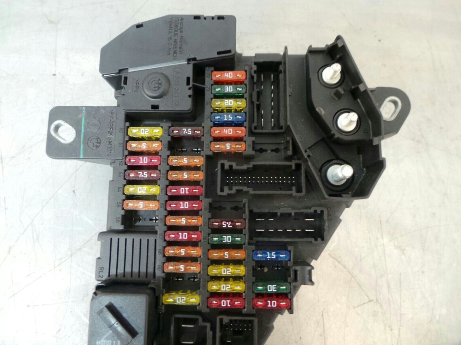 bmw e63 6 series fuse box 61146906588