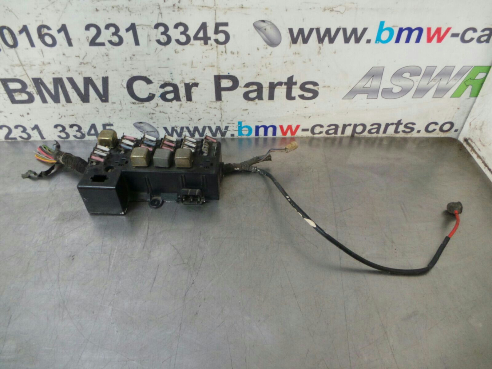 Bmw E21 3 Series Fuse Box 61131369605 Breaking For Used And Spare BMW 328I  Fuse Box Location Bmw Fuse Box S 3