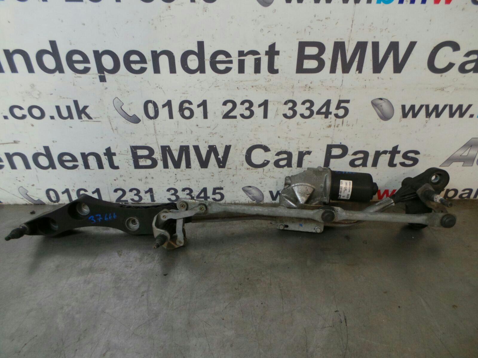 BMW E60 E61 E63 5/6 Series Front Wiper Motor/Console 61617194029