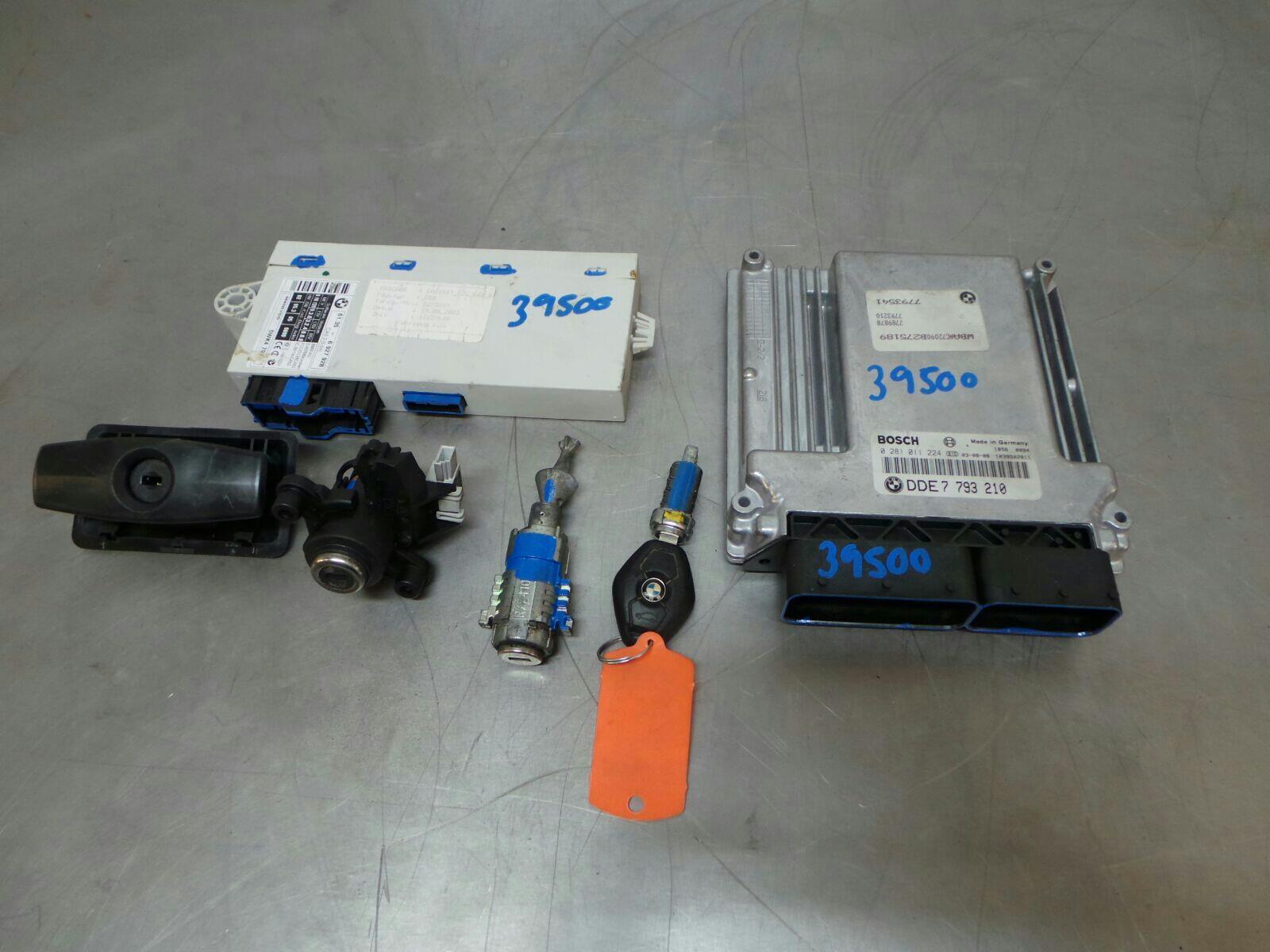 BMW E60 5 SERIES Engine ECU/CAS Kit 0281011244/7793210