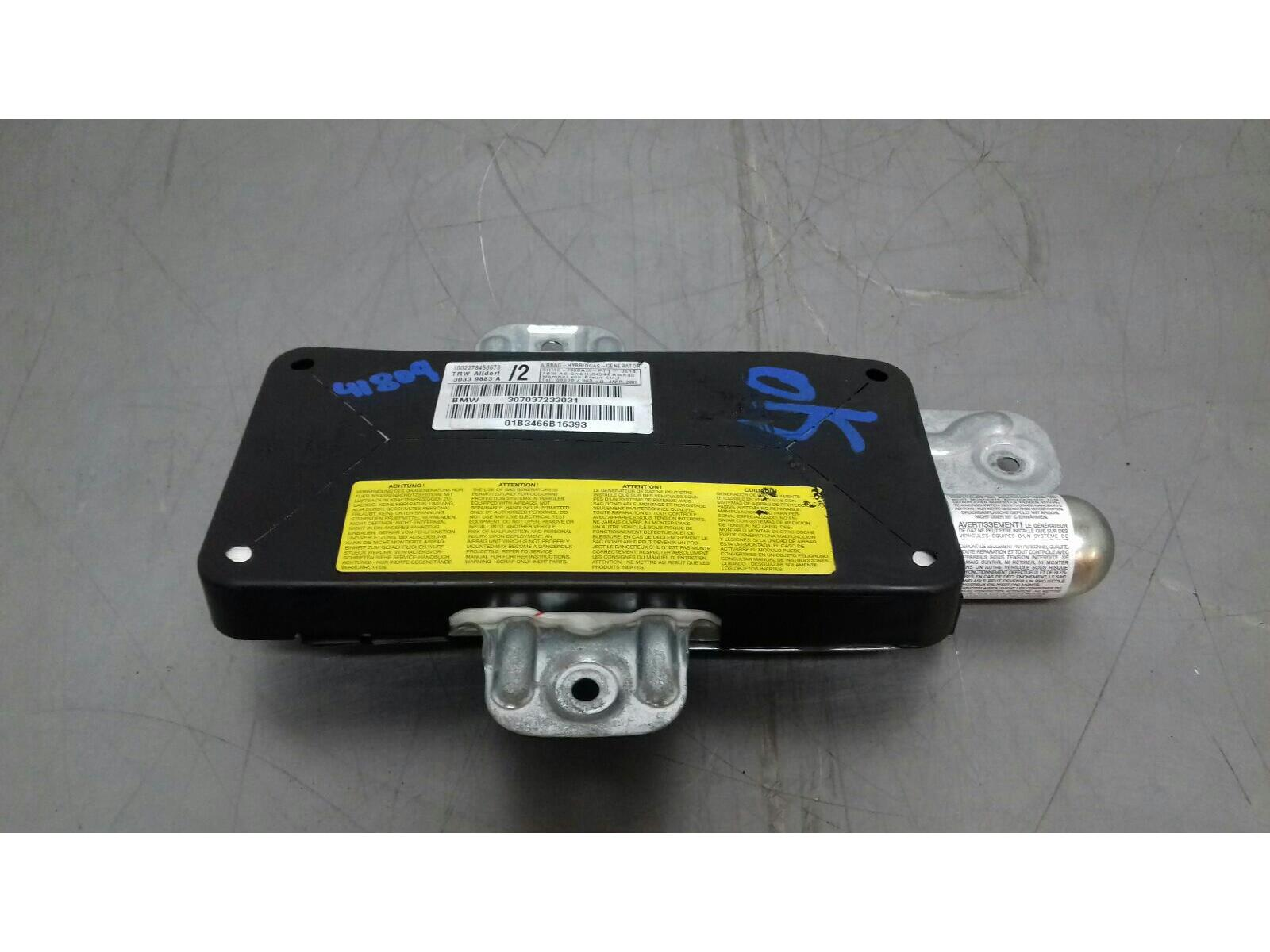 BMW E46 3 SERIES O/S/F Door Airbag 72127037234