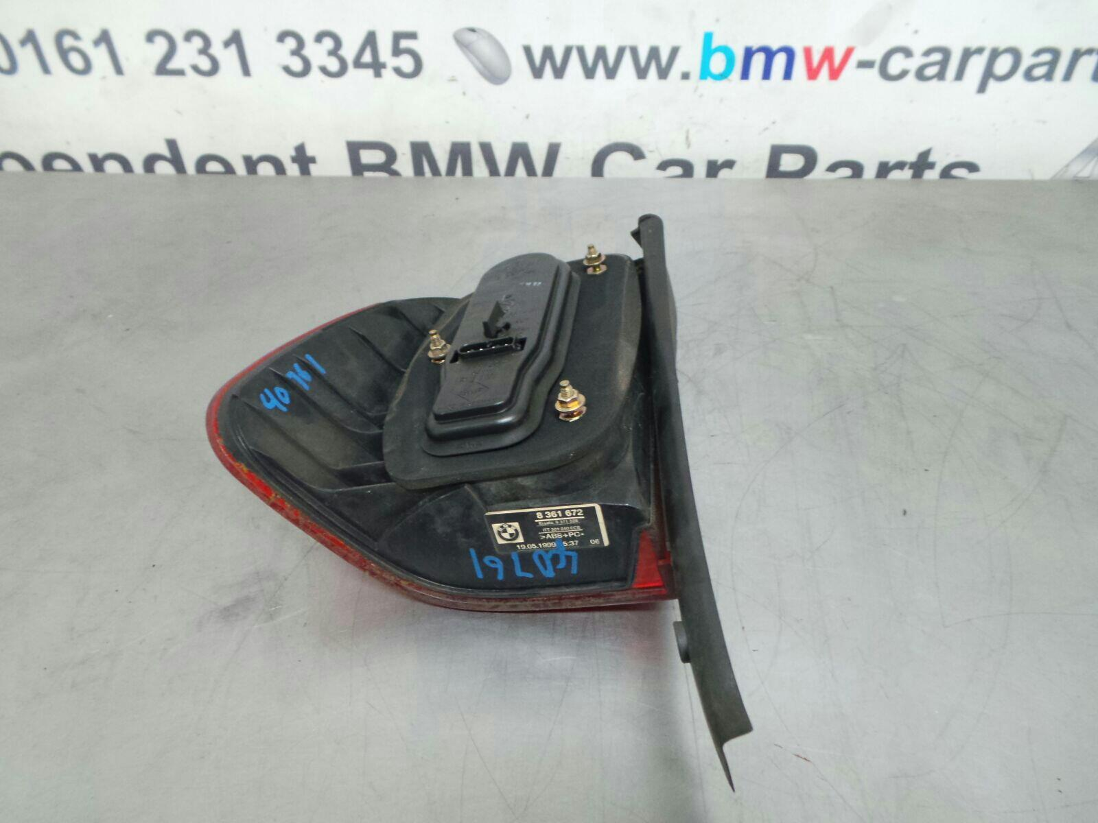 BMW E39 5 SERIES O/S Rear Light 63218371328 breaking for used and