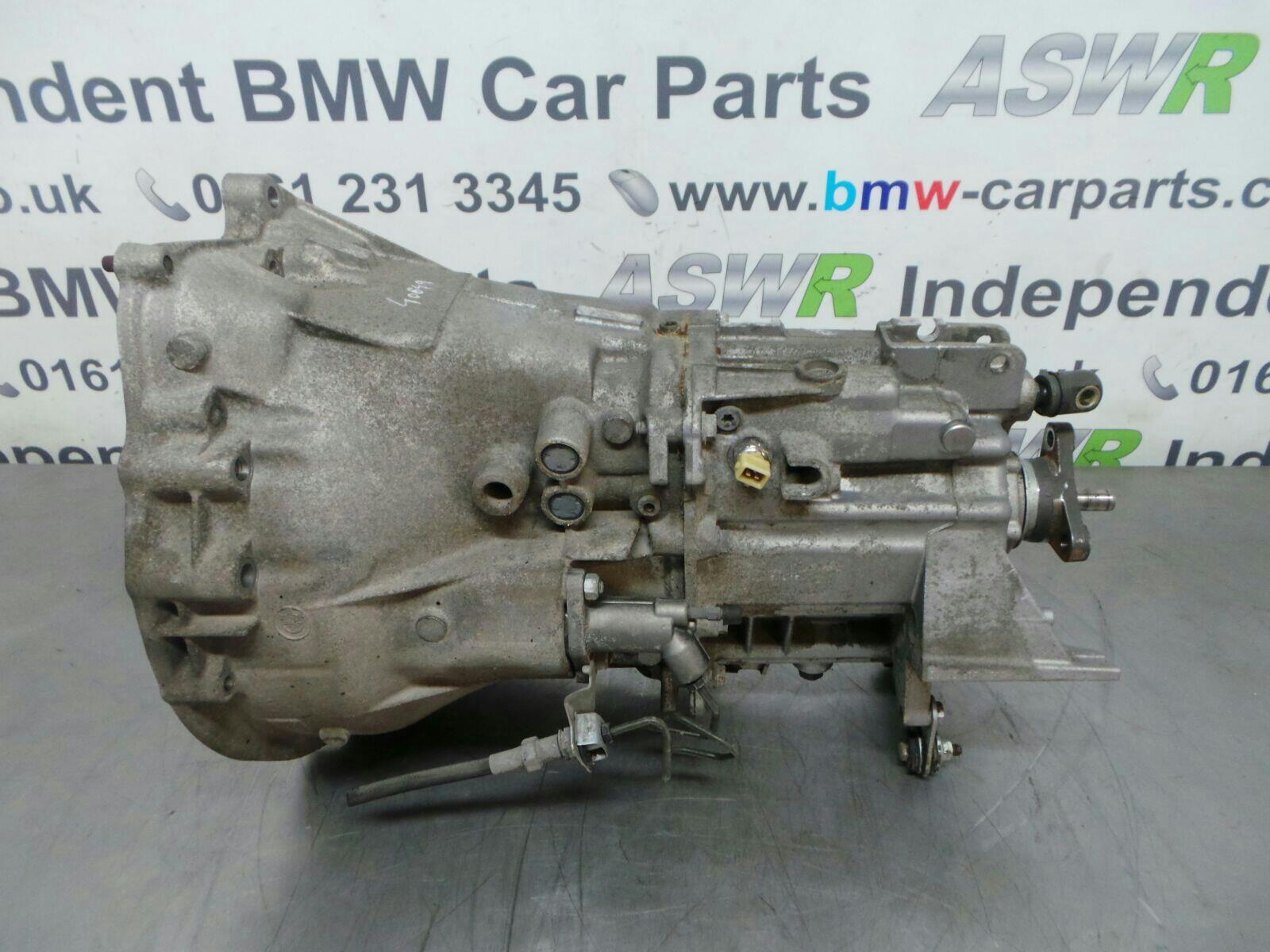 BMW E46 3 SERIES Manual Gearbox 23007534457 breaking for