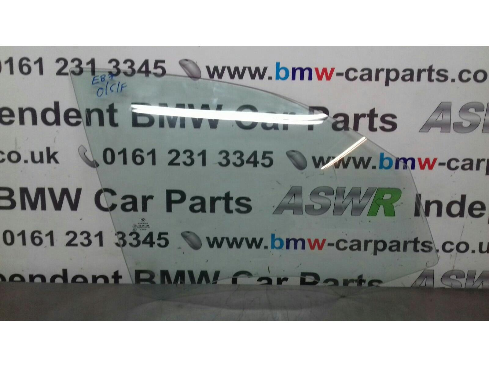 BMW 1 SERIES E87 5 DOOR HATCHBACK O/S/F Door Glass 51337067792