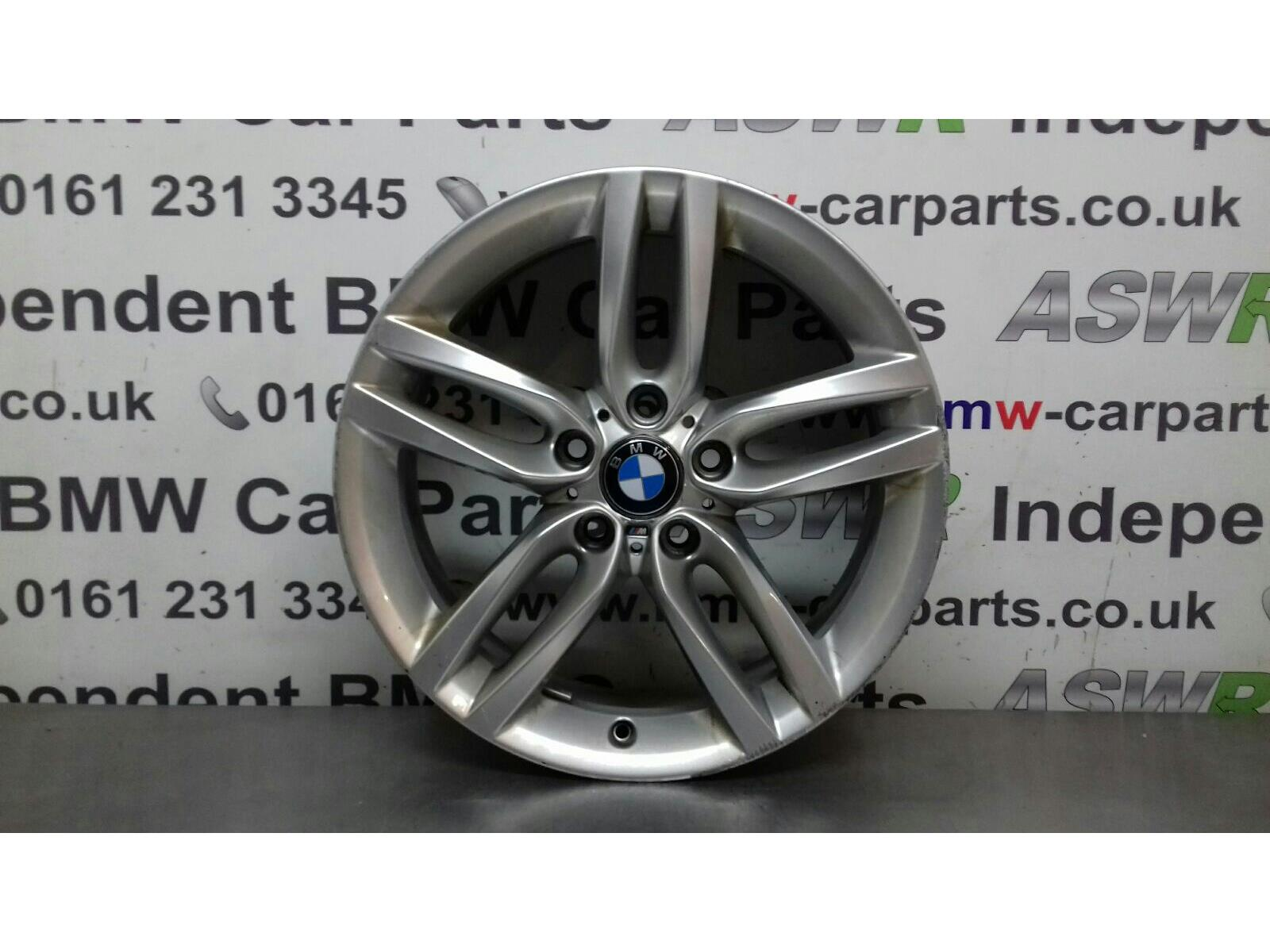 BMW 1 SERIES F20 Alloy Wheel M DOUBLE SPOKE 36117846784