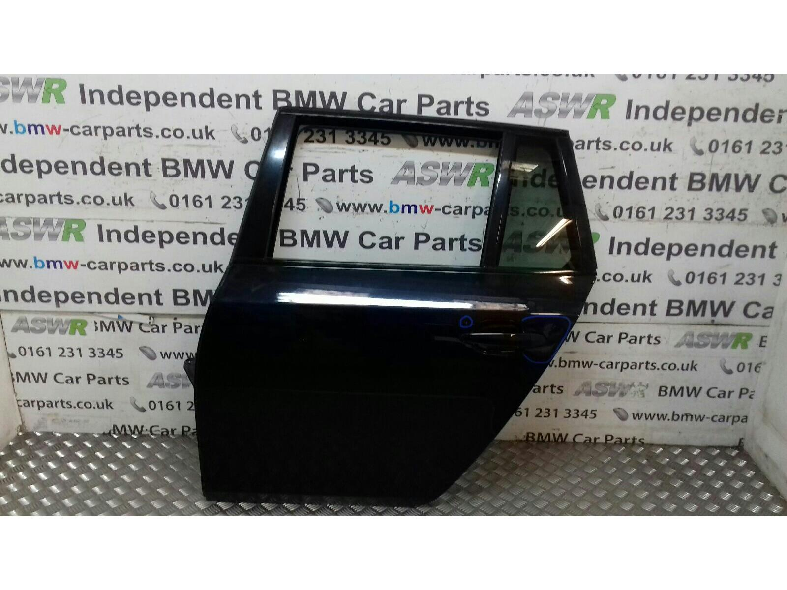 BMW E61 5 SERIES N/S Rear Door 41527158501