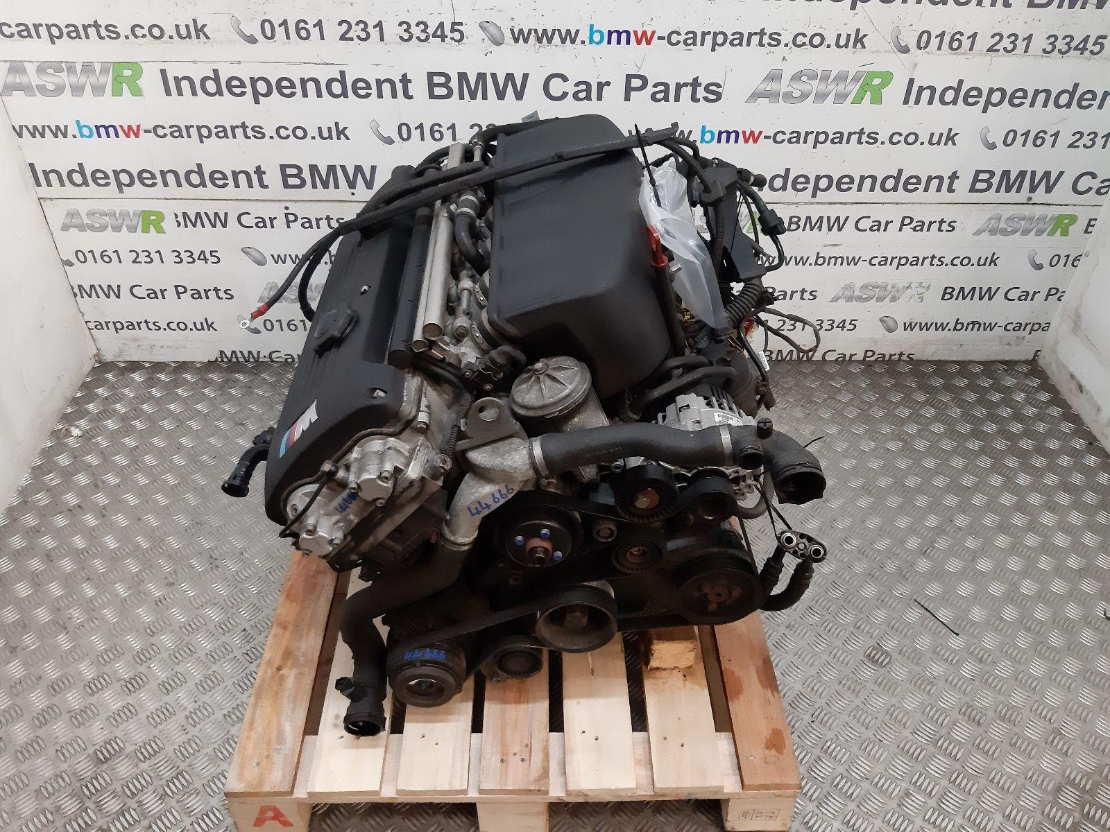 BMW E46 M3 S54 Engine 11000304348 breaking for used and spare parts