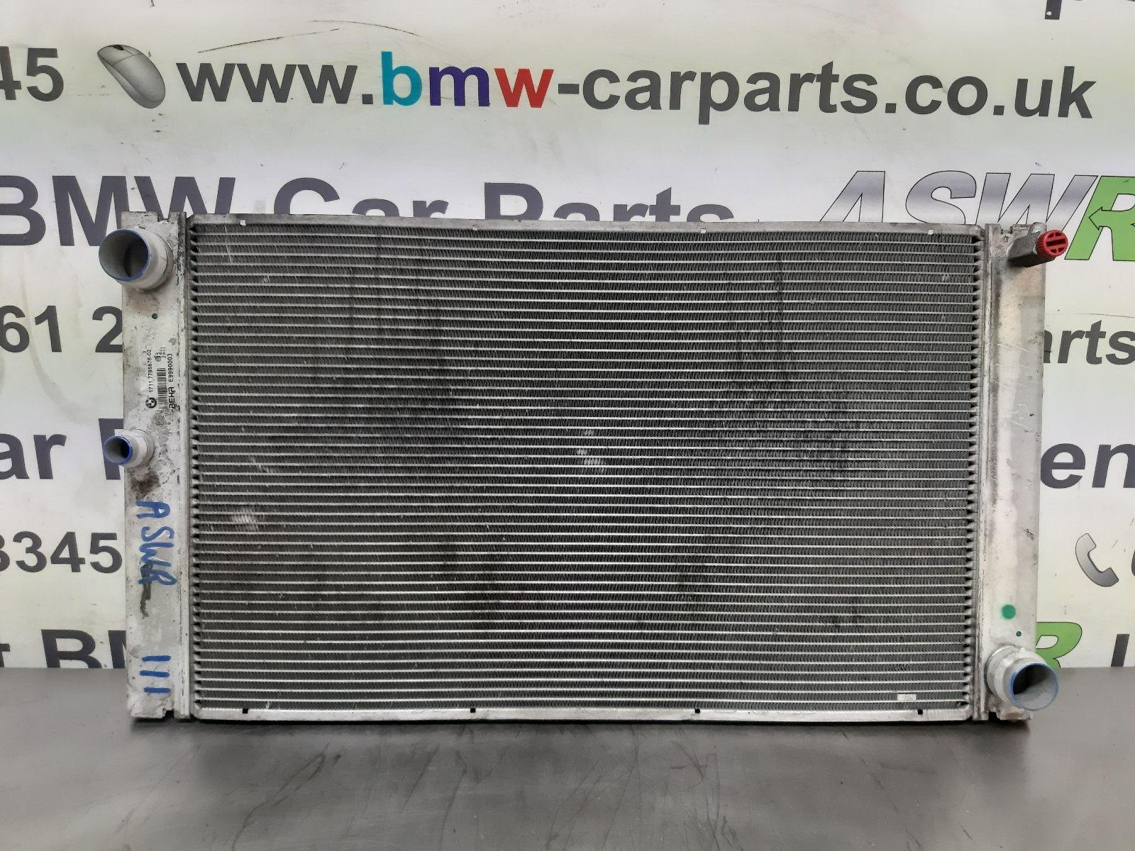 BMW E60 5 SERIES Radiator 17117795878
