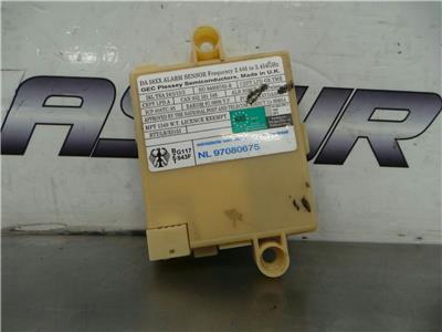 BMW E36/7 Z SERIES  Alarm ECU 65758385421