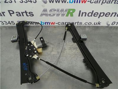 BMW E60 5 SERIES  N/S/F Window Lifter/Mechanism 51337184383