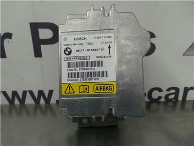 BMW E87 1 SERIES  Airbag ECU 65779166057