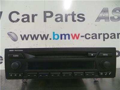 BMW E87 1 SERIES  Radio/Head Unit 6955342/6957351