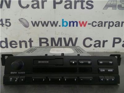 BMW E46 3 SERIES Radio/Head Unit 65126900402