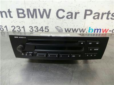 BMW E87 1 SERIES  Business CD Head Unit6962296/6975011
