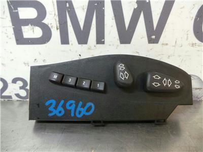 BMW E46 3 SERIES Driver Memory Seat Switch 8255378/88255382