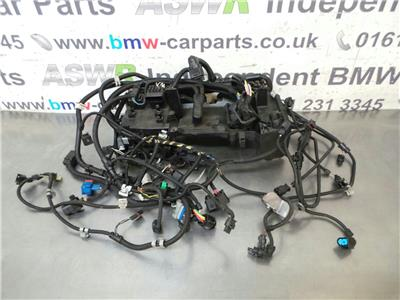 BMW F20 1 SERIES  Engine Wiring Loom 12517608801