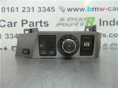 BMW E65 7 SERIES Light Switch 61316941997