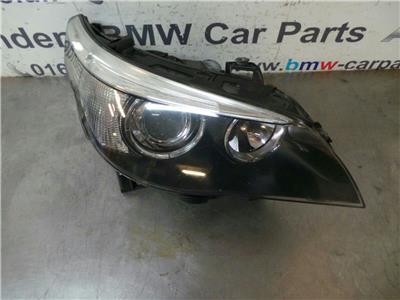 BMW E60 E61 5 SERIES O/S Xenon Head Light 63127165570