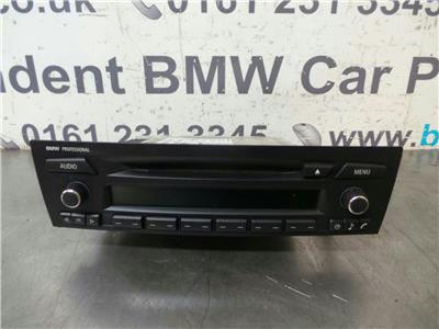 BMW E91 3 SERIES CD Head Unit 65129189200