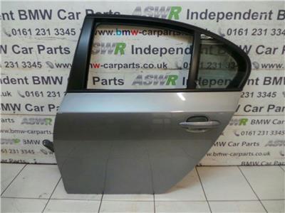 BMW E60 5 Series N/S Rear Door 41527202341