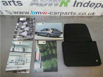 BMW E46 3 SERIES COMPACT Owners Handbook Wallet 0141058028