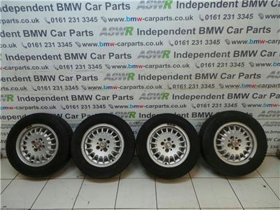 BMW E30 3 SERIES 14 Inch Alloy Wheels Set 36111125688