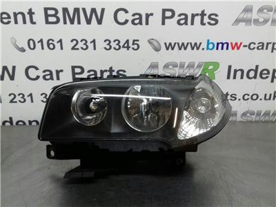BMW X3 E83 N/S Head Light LEFT HAND DRIVE 63123418411